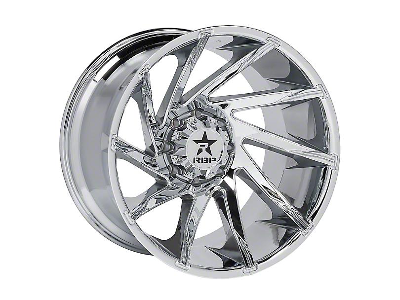 RBP 77R Spike Chrome 5-Lug Wheel; 20x10; 10mm Offset (14-20 Tundra)