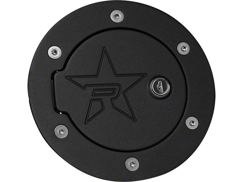 RBP RX-2 Series Locking Fuel Door - Black (07-20 Tundra)