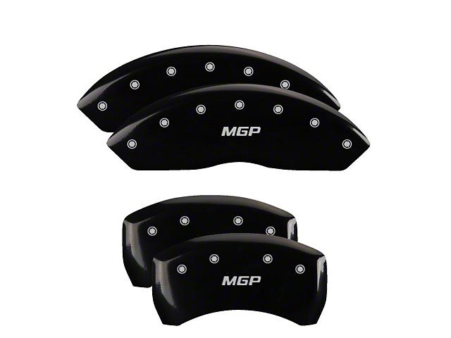 MGP Black Caliper Covers w/ MGP Logo - Front & Rear (07-20 Tundra)