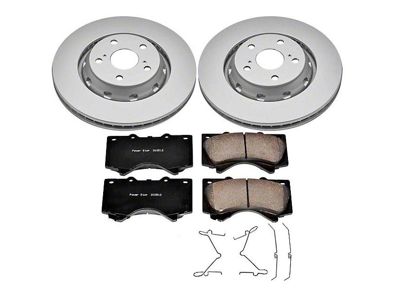 Power Stop Z17 Evolution Plus 5-Lug Brake Rotor & Pad Kit - Front (07-20 Tundra)