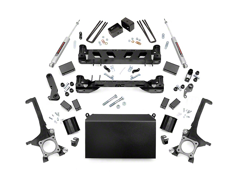 Rough Country 4 in. Suspension Lift Kit w/ Premium N3 Shocks (16-19 Tundra)