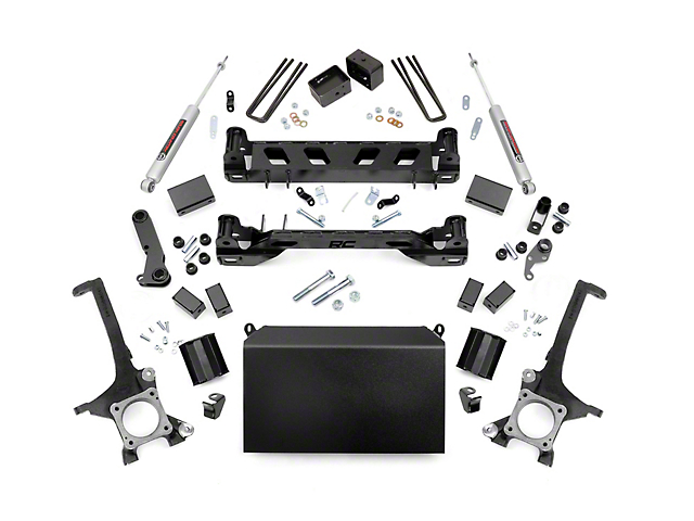 Rough Country 4.5 in. Suspension Lift Kit w/ Premium N3 Shocks (07-15 Tundra)