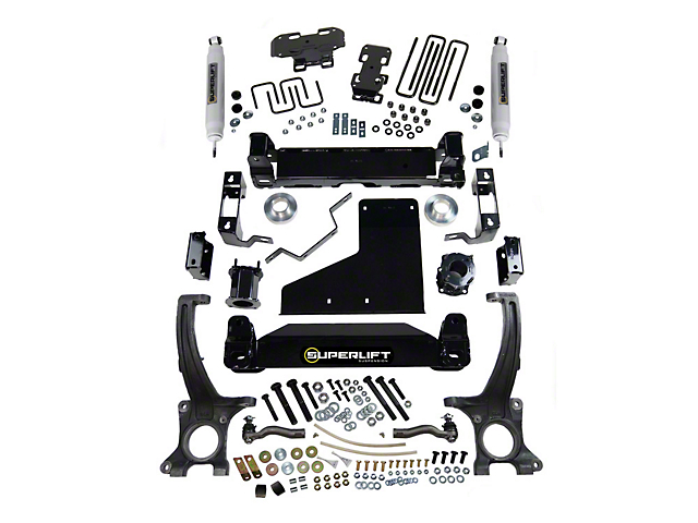 SuperLift 6-Inch Suspension Lift Kit with Superide Shocks (07-20 4WD Tundra, Excluding TRD Pro)