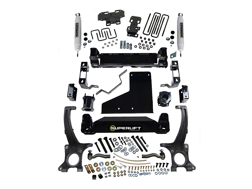 SuperLift 4.50-Inch Suspension Lift Kit with Superide Shocks (07-20 4WD Tundra, Excluding TRD Pro)