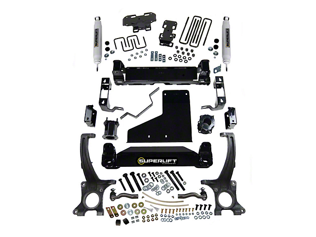 SuperLift 4.5 in. Suspension Lift Kit w/ Superide Shocks (07-20 4WD Tundra, Excluding TRD Pro)