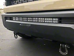 Cali Raised LED 32-Inch Stealth LED Light Bar with Bumper Mounting Brackets; Combo Beam (14-21 Tundra)