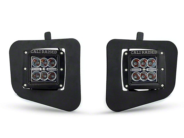 Cali Raised LED Fog Light Mounting Brackets (14-21 Tundra)