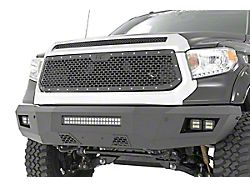 Rough Country Mesh Upper Grille Insert; Black (14-17 Tundra)
