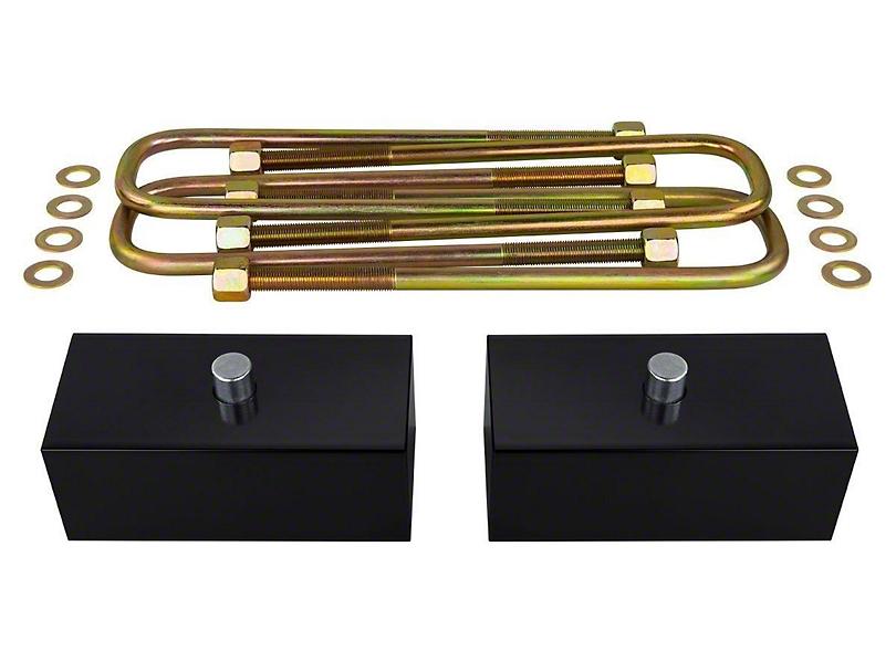 Supreme Suspensions 1.50-Inch Pro Billet Rear Lift Blocks (07-20 Tundra)