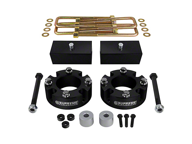 Supreme Suspensions 2-Inch Front / 1-Inch Rear Pro Billet Lift Kit (07-21 4WD Tundra)