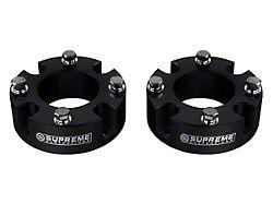 Supreme Suspensions 2-Inch Pro Billet Front Strut Spacer Leveling Kit (07-21 Tundra)