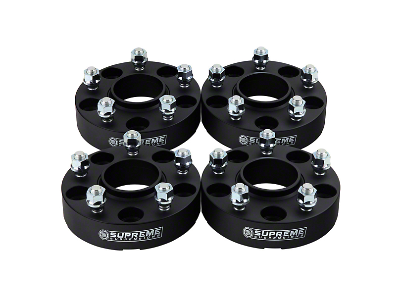 Supreme Suspensions 2-Inch Pro Billet Hub Centric Wheel Spacers; Set of Four (07-20 Tundra)