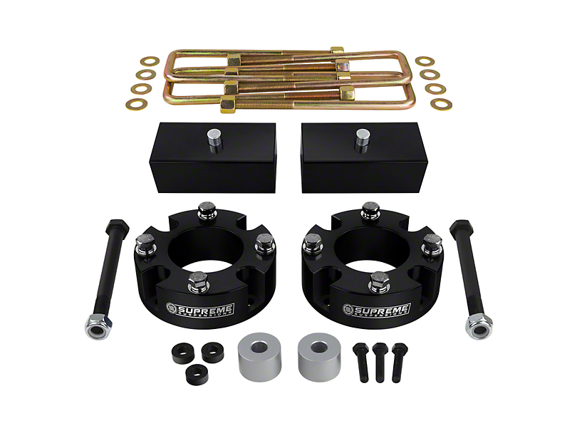 Supreme Suspensions 3-Inch Front / 2.50-Inch Rear Pro Billet Lift Kit (07-20 4WD Tundra)