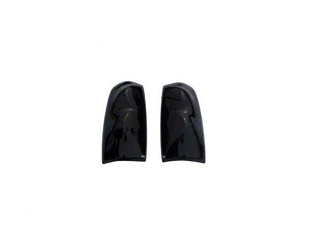 Tail Shades Tail Light Covers; Smoked (14-21 Tundra)