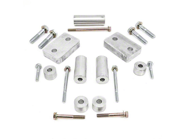 ReadyLIFT TRD Pro Skid Plate Spacer Kit (07-21 4WD Tundra)