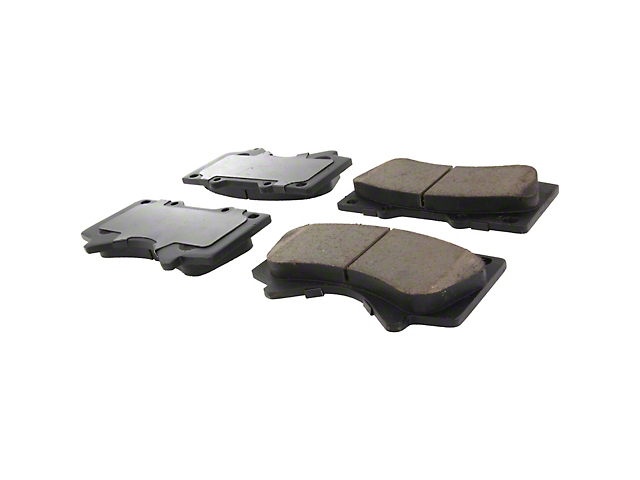 StopTech Street Select Ceramic Brake Pads; Front Pair (07-20 Tundra)