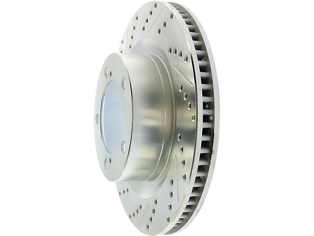 StopTech Select Sport Drilled and Slotted 5-Lug Rotor; Front (07-20 Tundra)
