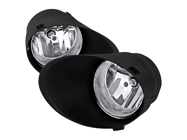 Fog Lights with Wiring Harness; Clear (07-13 Tundra)