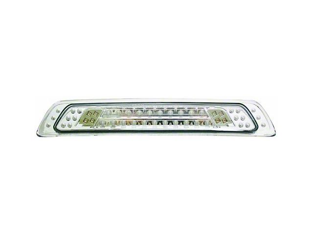 LED Third Brake Light; Crystal Clear (07-09 Tundra)