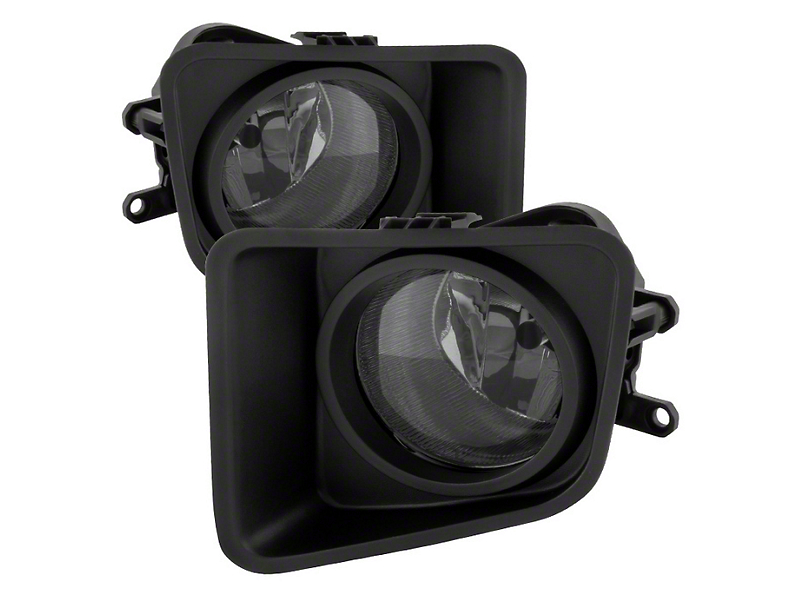 Tundra Oem Style Fog Lights With Switch  Smoked  14