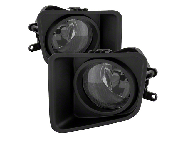 OEM Style Fog Lights with Switch; Smoked (14-18 Tundra)