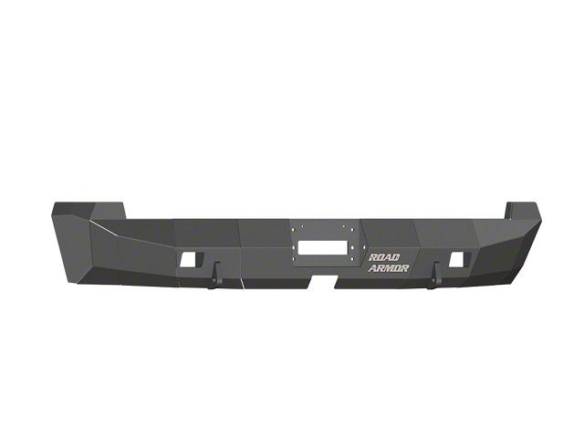 Road Armor Stealth Winch Rear Bumper; Satin Black (07-13 Tundra)