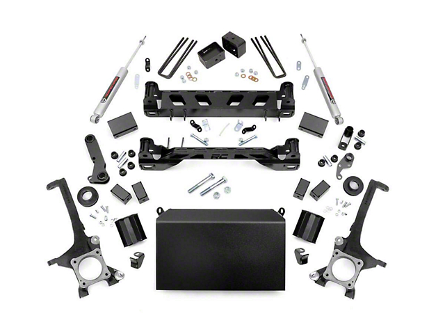 Rough Country 6-Inch Suspension Lift Kit with Premium N3 Shocks (07-15 Tundra)