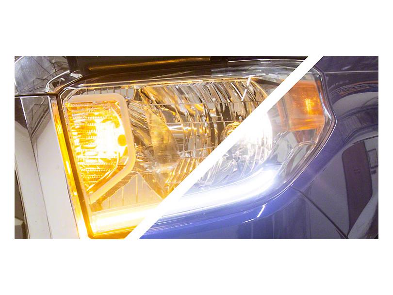 Diode Dynamics Daytime Running Light Switchback LED Strip Kit for Standard Headlights (14-17 Tundra)