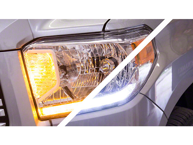 Diode Dynamics Daytime Running Light Switchback LED Boards for Premium Headlights (14-17 Tundra)