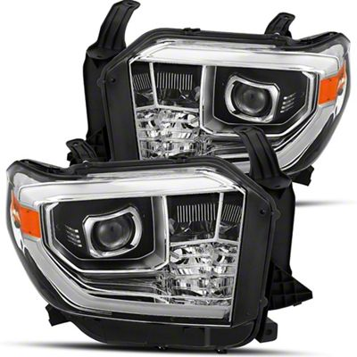 Tundra Pro Series Projector Headlights Chrome Housing Clear Lens 14 21 Tundra Excluding Trd Pro
