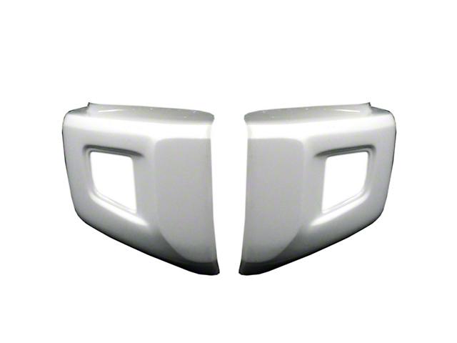 Front Bumper Cover; Gloss White (14-21 Tundra)