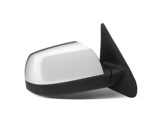 Powered Heated Towing Mirror; Passenger Side; Chrome (07-16 Tundra)