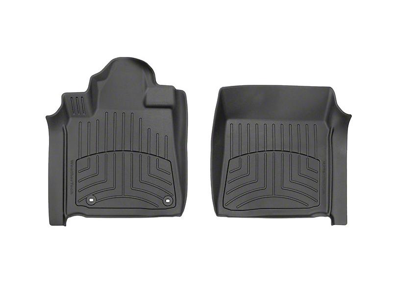 Weathertech 3D Front Floor Mats; Black (12-20 Tundra)