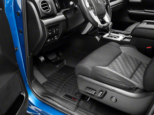 Weathertech DigitalFit Front Floor Liners; Black (12-15 Tundra)