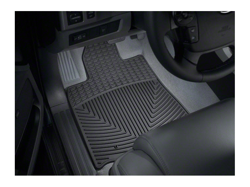 Weathertech All-Weather Front Floor Mats; Black (10-11 Tundra)