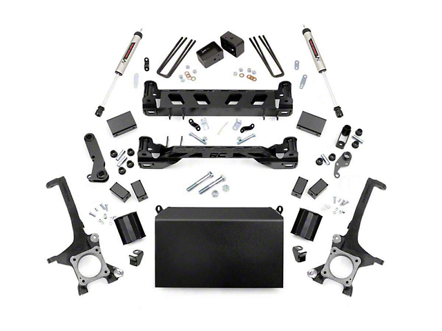 Rough Country 6-Inch Suspension Lift Kit with V2 Monotube Shocks (16-21 Tundra, Excluding TRD Pro)