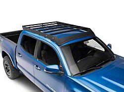 Cali Raised LED Economy Roof Rack with LED Light Bar Cutout (05-21 Tacoma Double Cab)