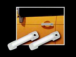 Door Handle Covers with Smart Key Opening; Chrome (07-21 Tundra CrewMax)