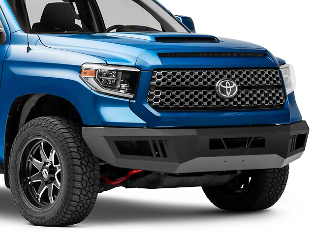 Armour Front Bumper; Black (14-21 Tundra)