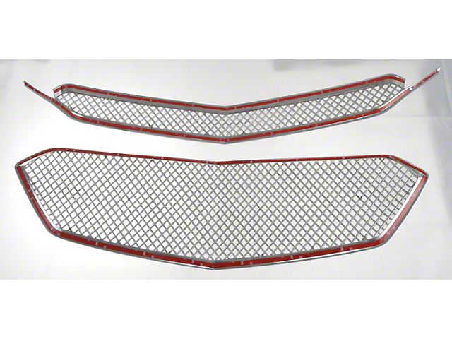 Upper Grille Overlay; Black (18-21 Tundra)
