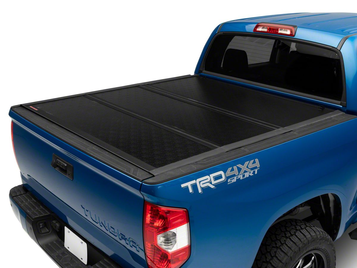 Tundra Low Profile Hard Tri Fold Tonneau Cover 07 21 Tundra W 5 5 Ft Bed