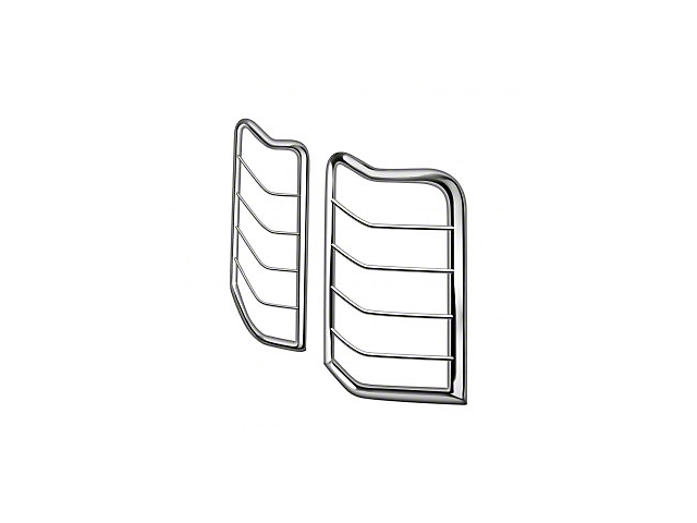 Tail Light Guards; Stainless Steel (07-13 Tundra)