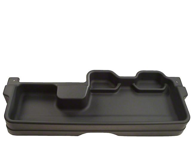Husky GearBox Under Seat Storage Box; Black (07-13 Tundra Double Cab w/o Subwoofer)