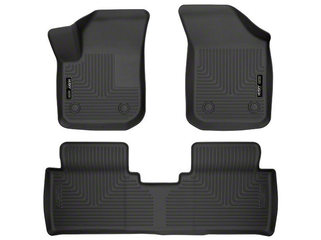 Husky GearBox Under Seat Storage Box; Black (14-21 Tundra Double Cab w/o Subwoofer)