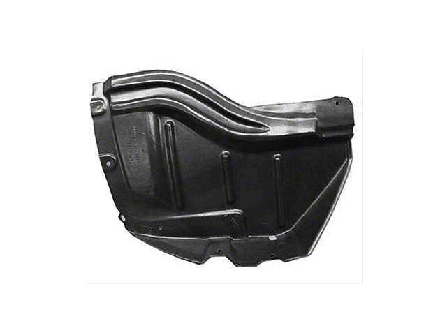 Inner Fender Liner; Front Section; Passenger Side; Replacement Part (07-13 Tundra w/ Steel Bumper)