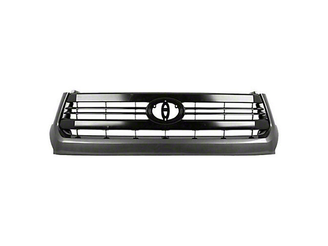 Upper Replacement Grille; Black (14-17 Tundra)