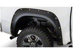 Bushwacker Pocket Style Fender Flares; Rear; Matte Black (07-13 Tundra)