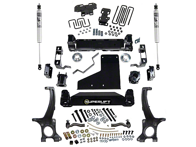 SuperLift 6-Inch Suspension Lift Kit with FOX Shocks (07-21 4WD Tundra, Excluding TRD Pro)