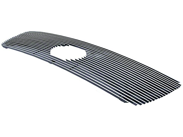 Billet Upper Overlay Grille; Polished (07-09 Tundra)