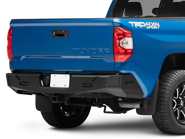 Pro-Series Rear Bumper; Textured Black (14-21 Tundra)